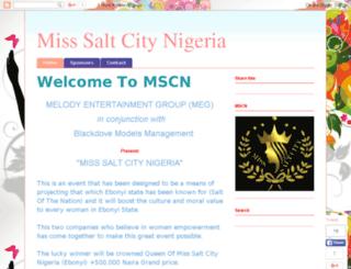 misssaltcity.com screenshot