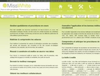 misswhite.fr screenshot