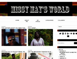 missymayification.blogspot.com screenshot