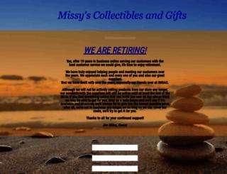 missyscollectibles.com screenshot