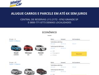mistercar.net.br screenshot
