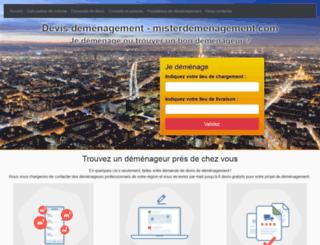 misterdemenagement.com screenshot