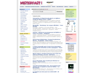 misterfast.com screenshot