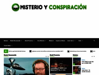 misterioyconspiracion.com screenshot