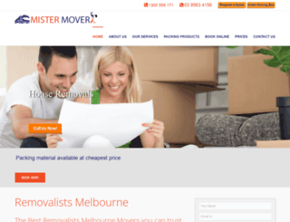 mistermover.com.au screenshot