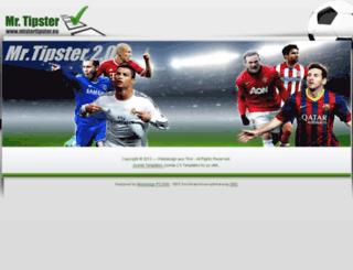 mistertipster.eu screenshot