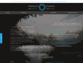 mistingsa.co.za screenshot
