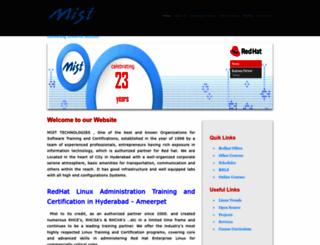 mistltd.com screenshot
