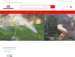 mistmosquito.com screenshot