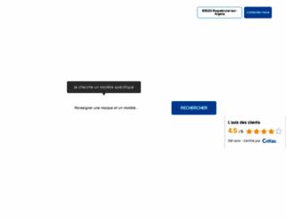 mistral-campingcars.com screenshot