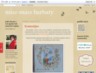 misz-maszbarbary.blogspot.com screenshot