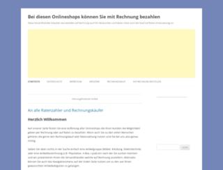 mit-rechnung-bezahlen.de screenshot