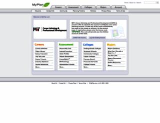 mit.myplan.com screenshot