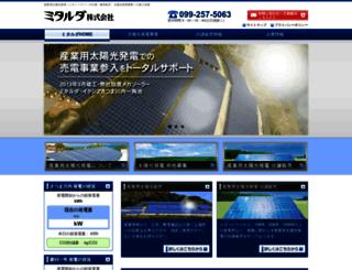 mitalda.co.jp screenshot