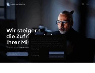 mitarbeiterangebote.de screenshot