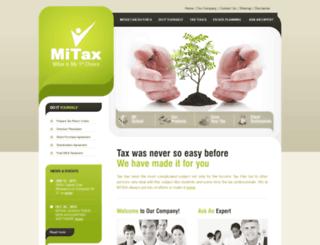 mitax.ca screenshot