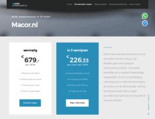 mitchel.macor.nl screenshot