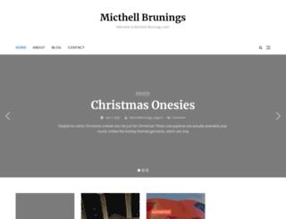 mitchell-brunings.com screenshot