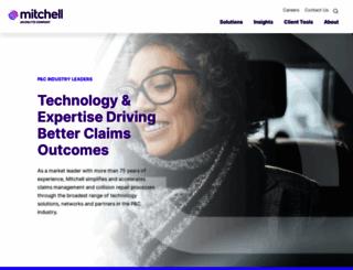 mitchell.com screenshot