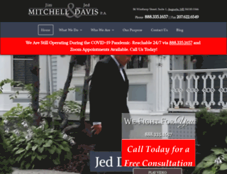 mitchellanddavis.com screenshot