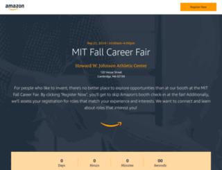 mitfallcareerfair.splashthat.com screenshot