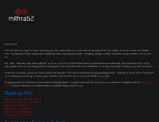 mithra62.com screenshot