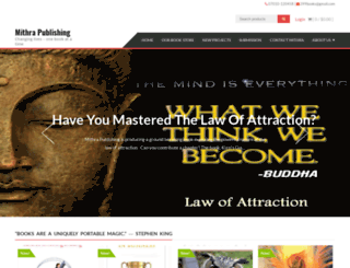 mithrapublishing.com screenshot