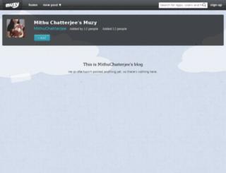mithuchatterjee.muzy.com screenshot