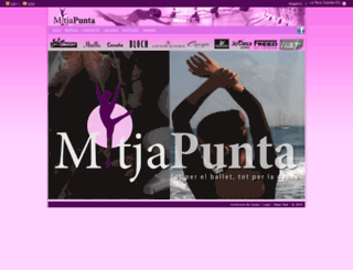 mitjapunta.com screenshot