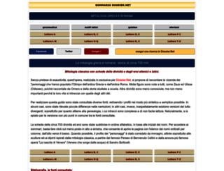 mitologia.dossier.net screenshot