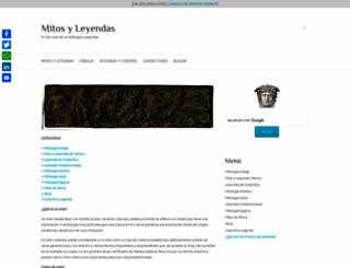 mitosyleyendascr.com screenshot