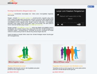 mitra.lanjar.com screenshot
