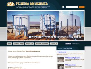 mitraadisemesta.com screenshot