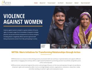 mitraindia.org screenshot
