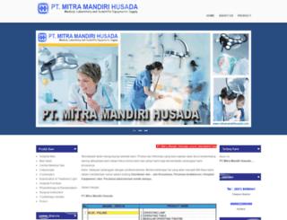 mitramandirihusada.com screenshot