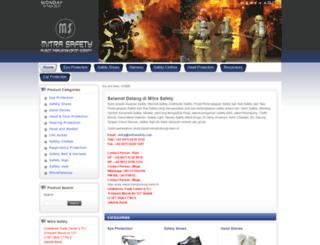 mitrasafety.com screenshot