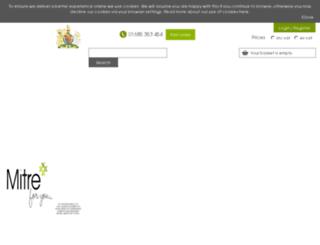 mitreforhome.com screenshot
