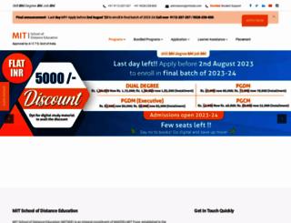 mitsde.com screenshot
