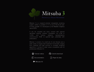 mitsuba-renderer.org screenshot