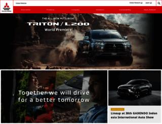 mitsubishi-motors.com screenshot