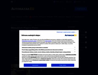 mitsubishi-pajero-pinin.autobazar.eu screenshot