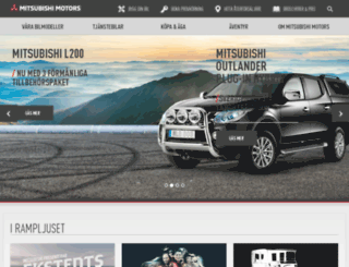 mitsubishi.nu screenshot