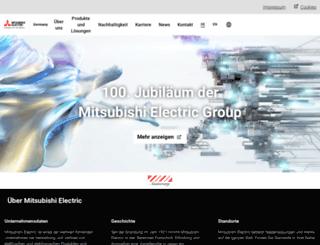 mitsubishielectric.de screenshot