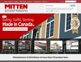 mittenvinyl.com screenshot