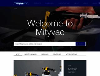 mityvac.com screenshot
