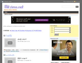 mitzima.net screenshot