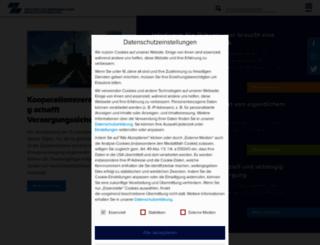 mitzucker.de screenshot