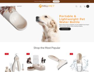 miupet.com screenshot