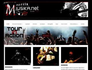miusika.net screenshot