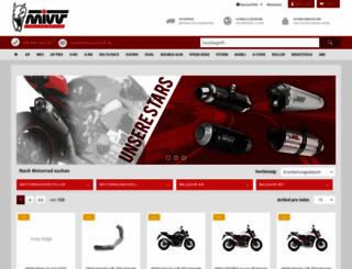 mivv-auspuff.de screenshot